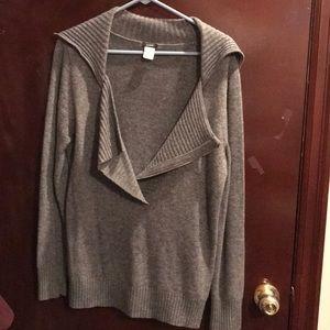 J. Crew wool grey sweater